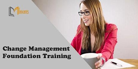 Change Management Foundation 3 Days Training in Singapore tickets