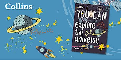 Exploring the Night Sky with Tom Kerss | Edinburgh Science tickets