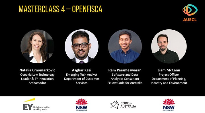 Rules as Code Masterclass 4 - Open Fisca, DCS and CfA image