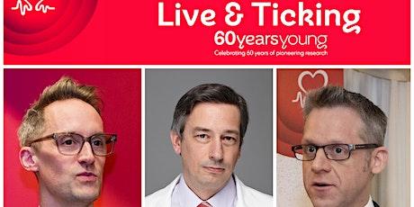 British Heart Foundation - Live and Ticking | Edinburgh Science tickets