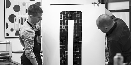 Print a Giant Letter workshop, with Oli Bentley (10:00) tickets