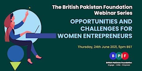 Opportunities & Challenges for Women Entrepreneurs tickets