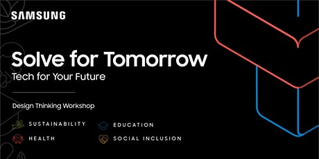 Digital Workshop | Solve for Tomorrow: Tech for Your future tickets