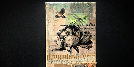 Mixed Media Collage on Canvas Workshop tickets