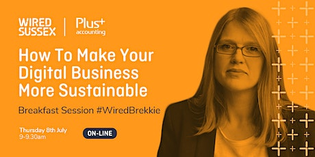 Breakfast Session |  How To Make Your Digital Business More Sustainable Tickets