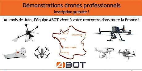 Démonstrations drones pros billets