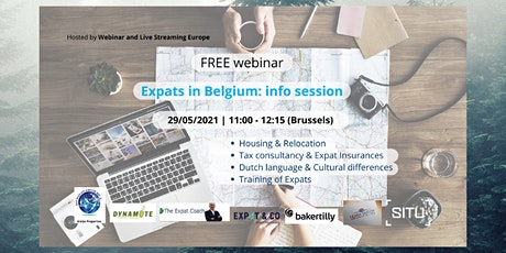 Expats in Belgium Info  May Session tickets