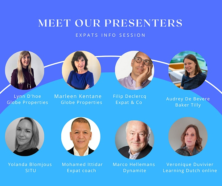 Expats in Belgium Info  May Session image
