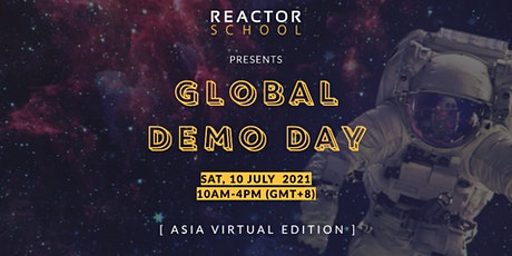 Reactor Global Demo Day tickets