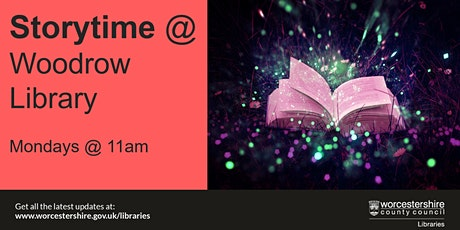 Storytime at Woodrow Library tickets