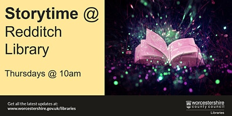 Storytime at Redditch Library tickets