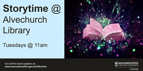 Storytime at Alvechurch Library tickets