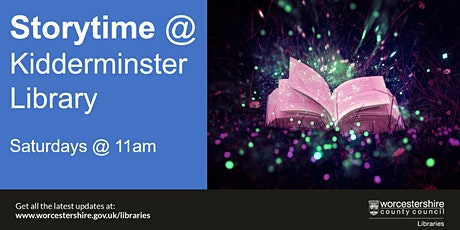 Storytime at Kidderminster Library tickets