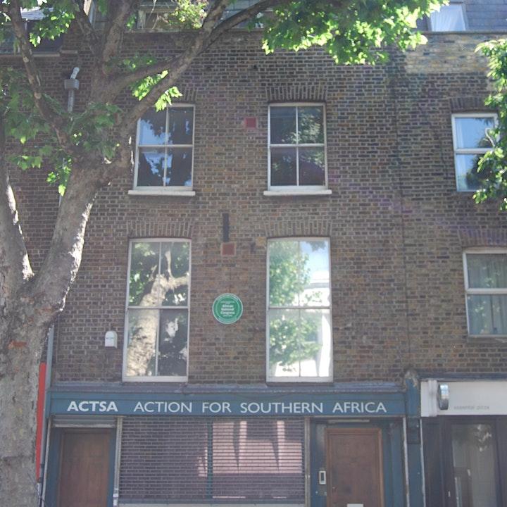 Fighting Apartheid & Racial Injustice: the story of 28  Penton Street image