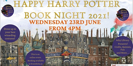 Harry Potter Book Night Event with Athy Library! tickets