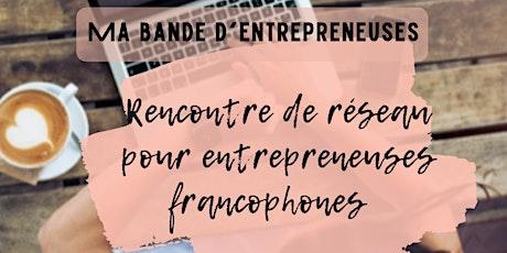 Rencontre de reseau pour femme entrepreneure billets