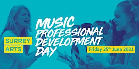Surrey Arts:  Music Professional Development Day tickets