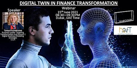 Digital Twin In Finance Transformation billets