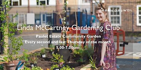 Linda McCartney Gardening Club tickets