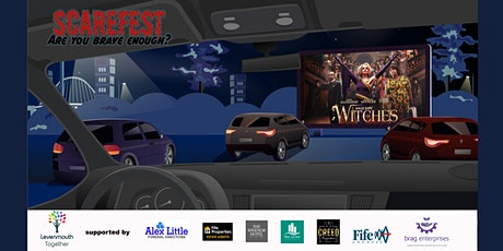 Levenmouths very own Scarefest Drive In Cinema.  Witches tickets