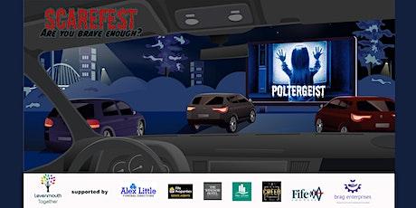 Levenmouths very own Scarefest Drive In Cinema.Poltergeist tickets