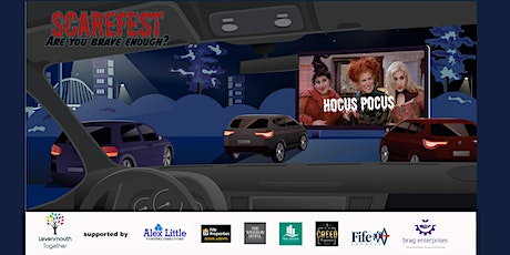 Levenmouths very own Scarefest Drive In Cinema.  Hocus Pocus tickets