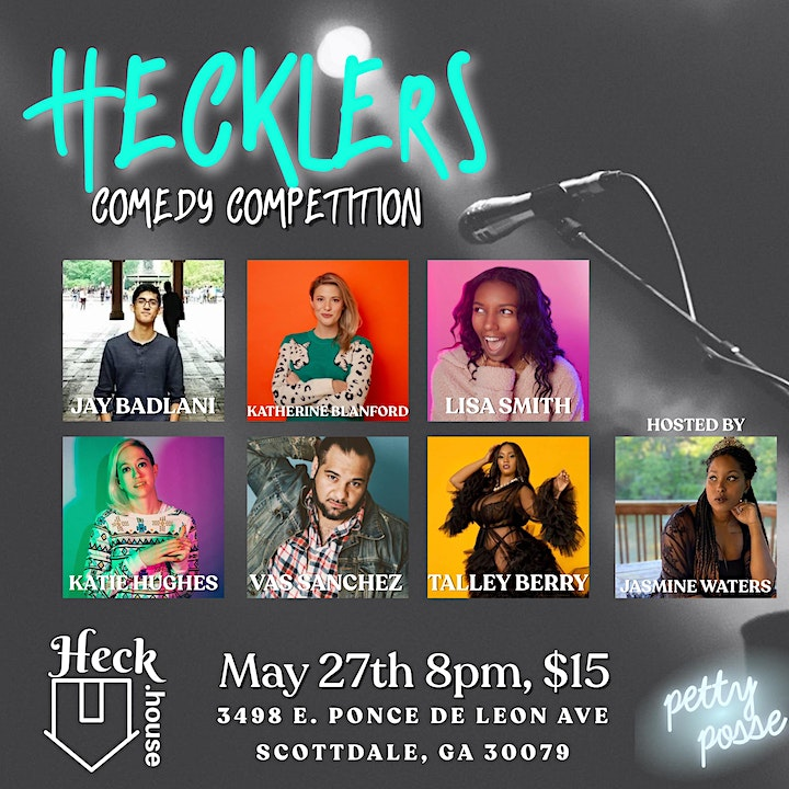 Hecklers Comedy Competition image