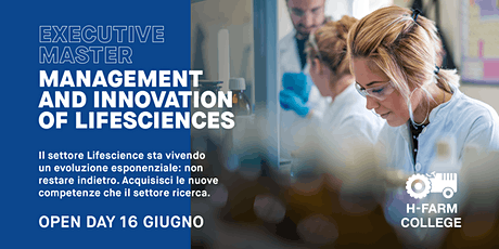Open Day Online MAMIL - Master in Management & Innovation of Lifesciences biglietti