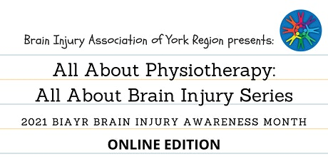 All About Physiotherapy - 2021 Brain Injury Awareness Month tickets