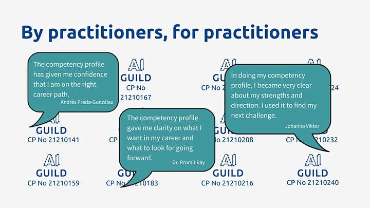 Competency profile examples for building your #datacareer image