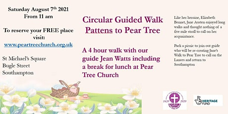 Circular Guided Walk - Pattens to Pear Tree. tickets