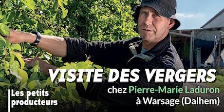 Visite des vergers de Pierre-Marie Laduron billets