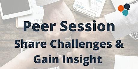 Peer Genius Event  - Peer Support & Networking tickets