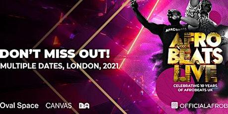 Afrobeats Live (Celebrating 10 Years of Afrobeats UK) tickets