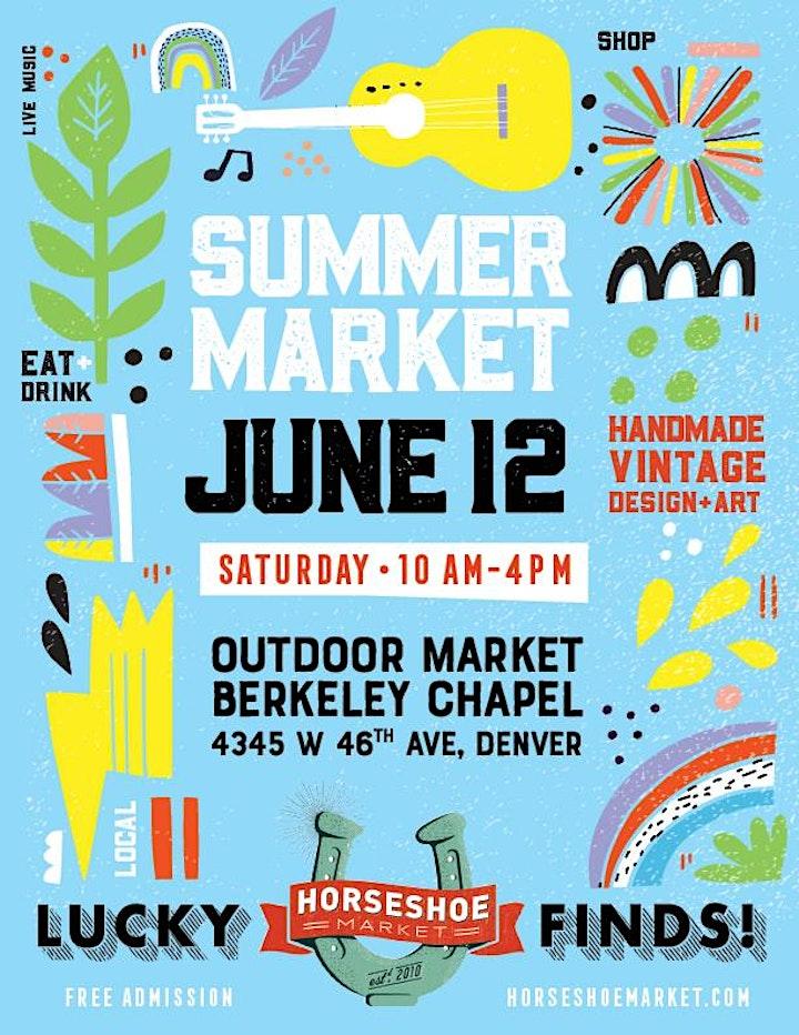 June 12th Horseshoe Market! image