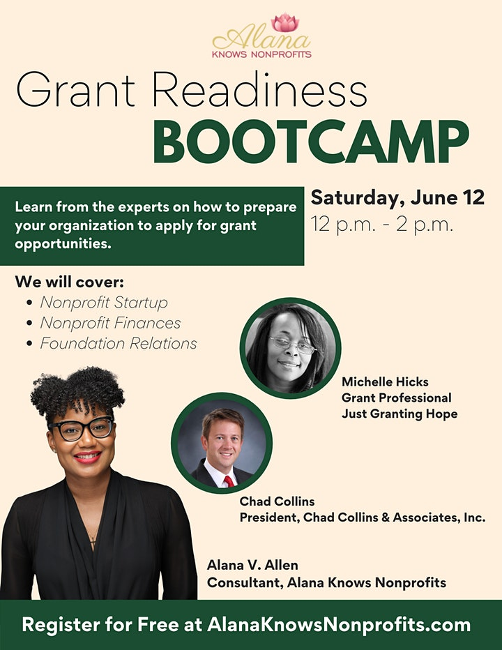 Grant Readiness Bootcamp image