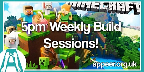 Girls Appeer Minecraft Build Session - Weekly Build tickets