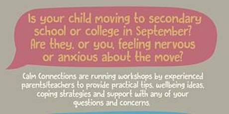 Transition Workshops for all the family tickets
