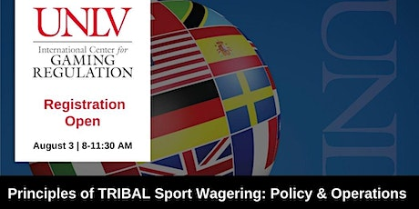 Sport Wagering Policy & Operations: A Tribal Perspective tickets