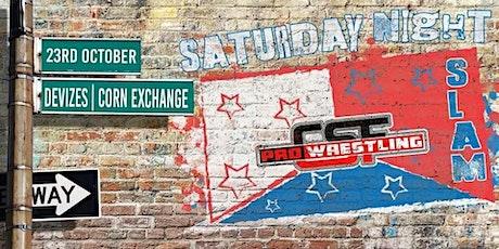 CSF Wrestling - Saturday Night Slam! tickets