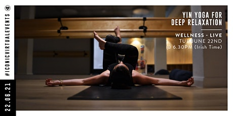 Yin Yoga for Deep Relaxation with Grace Tempany tickets