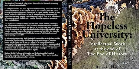 Book launch: The Hopeless University tickets