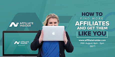How to find more affiliates and get them to like you tickets