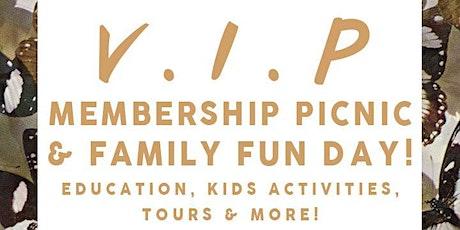 VIP Membership Picnic & Family Fun Day tickets