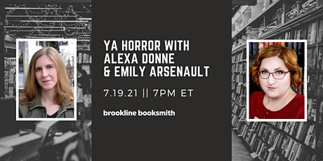 YA Horror with Alexa Donne and Emily Arsenault tickets