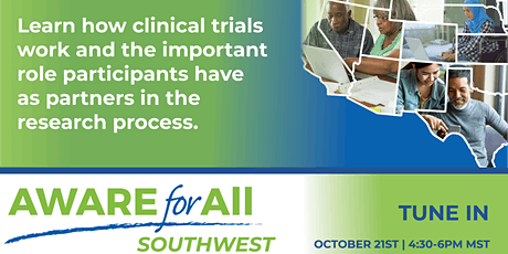 AWARE for All - Southwest Virtual Health Event 2021 tickets