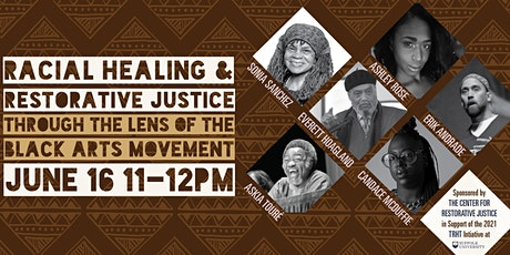 Racial Healing and Restorative Justice tickets