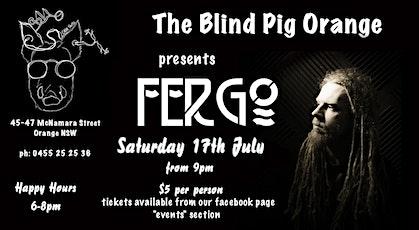 Luke Ferguson - Live & Local @ The Blind Pig Orange tickets