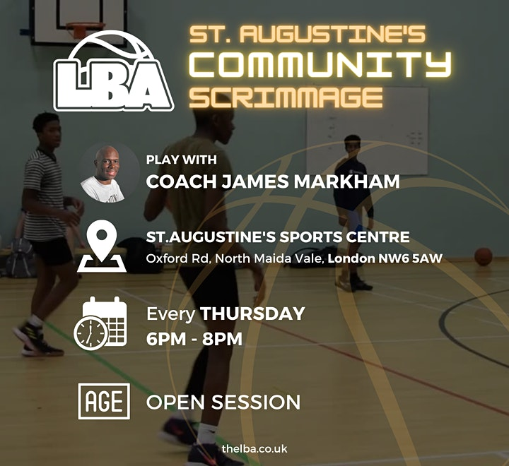 St Augustine's Community Scrimmages - Weekly Basketball image