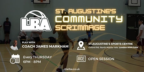 St Augustine's Community Scrimmages - Weekly Basketball tickets